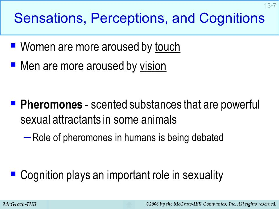 Sensations, Perceptions, and Cognitions
