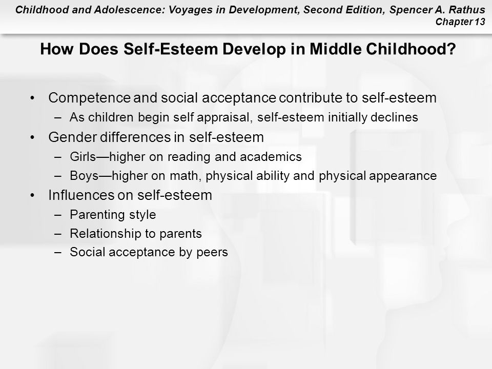 How Does Self-Esteem Develop in Middle Childhood