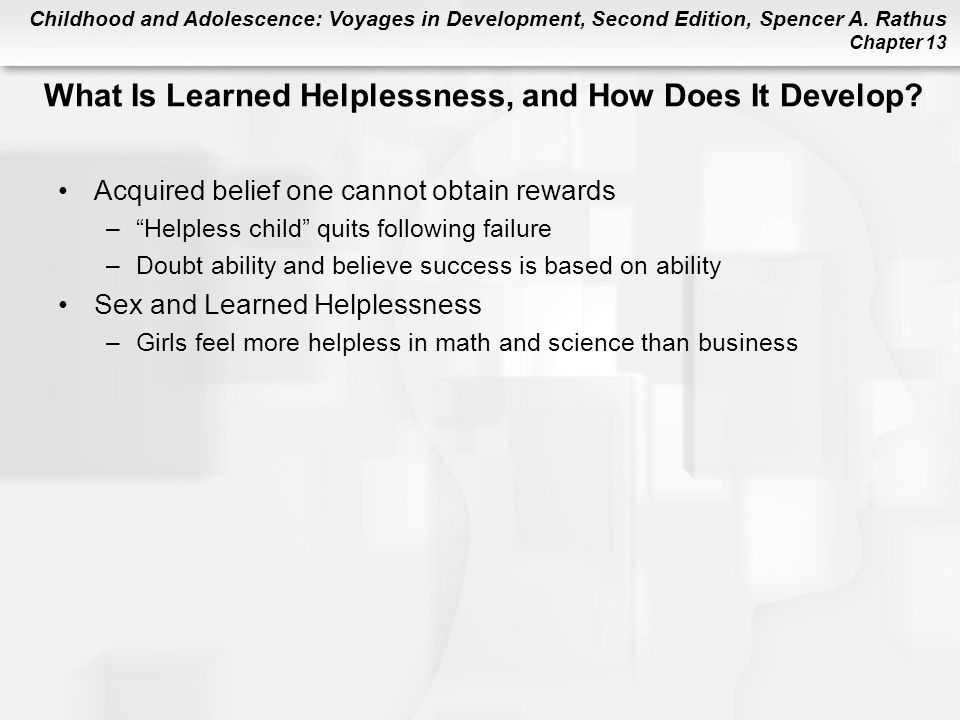What Is Learned Helplessness, and How Does It Develop