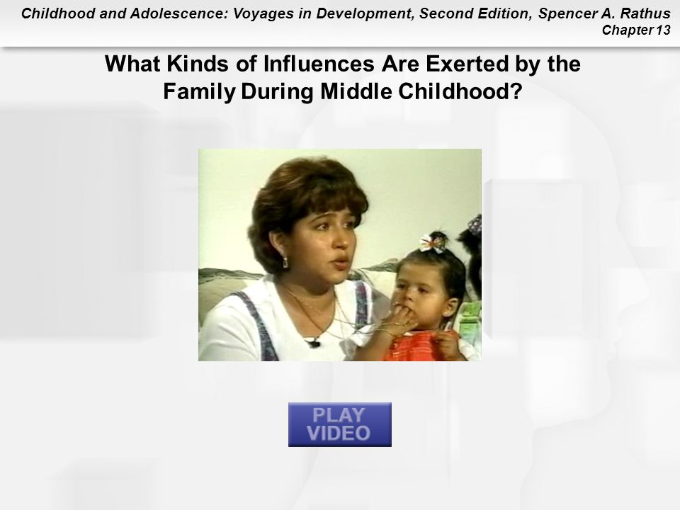What Kinds of Influences Are Exerted by the Family During Middle Childhood