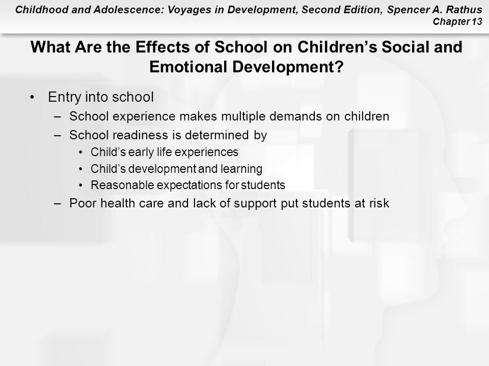 What Are the Effects of School on Children's Social and Emotional Development