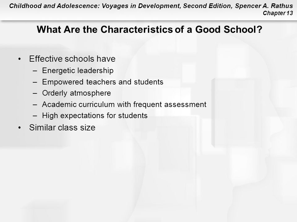 What Are the Characteristics of a Good School