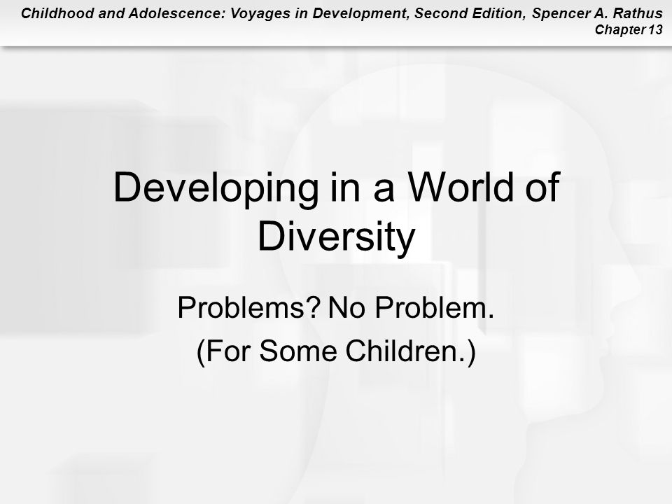 Developing in a World of Diversity