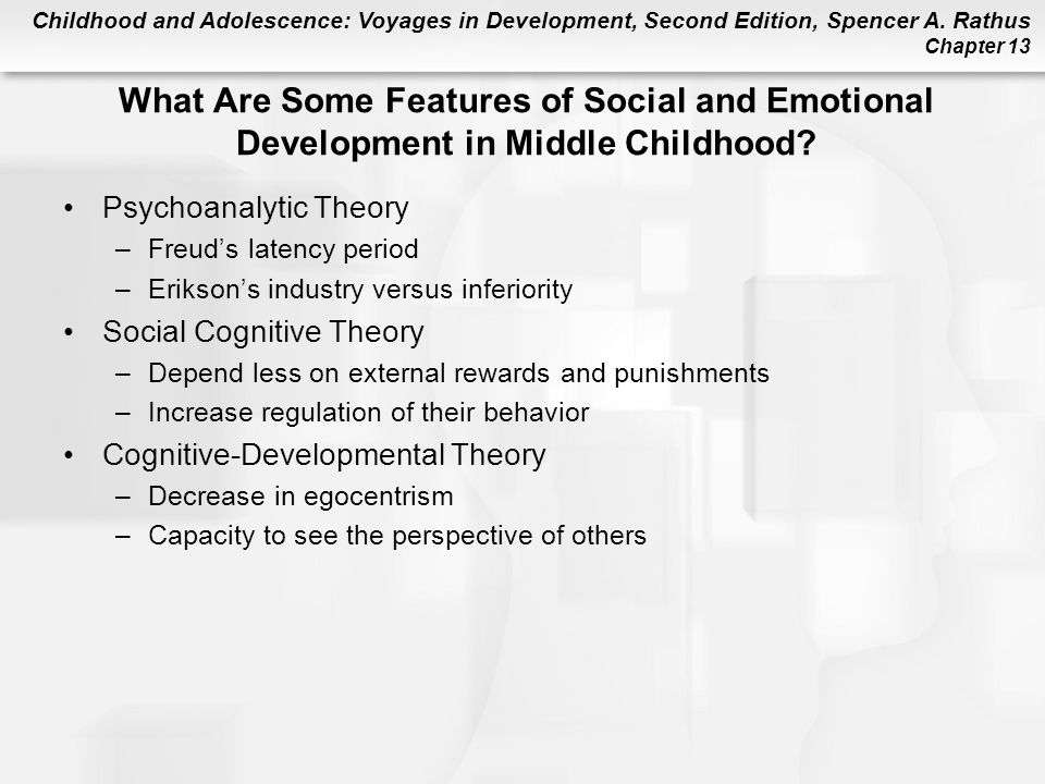 What Are Some Features of Social and Emotional Development in Middle Childhood