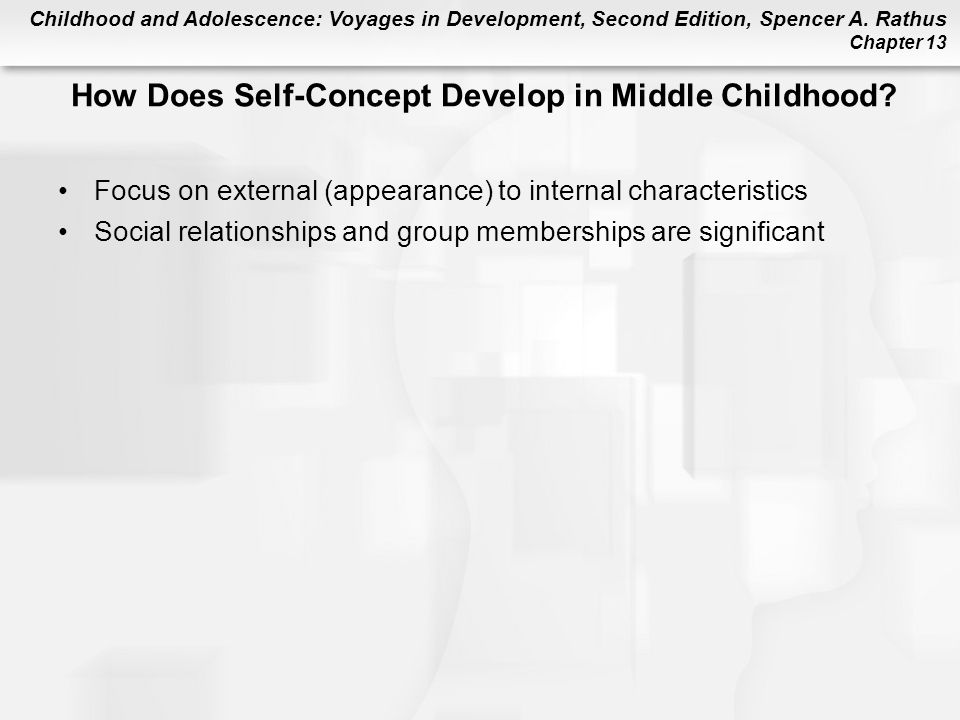 How Does Self-Concept Develop in Middle Childhood