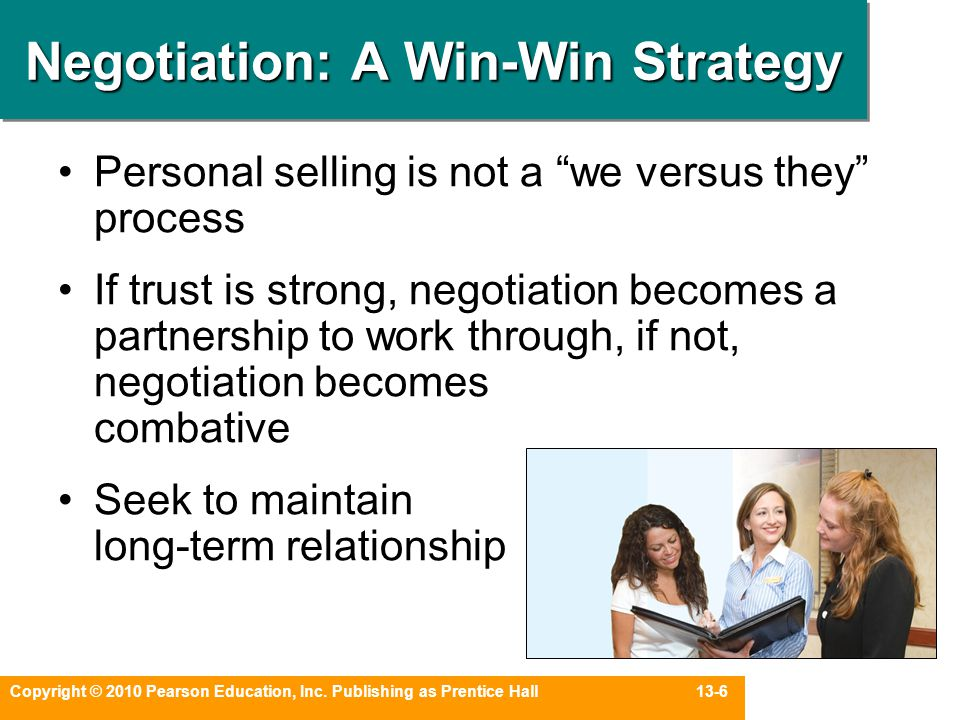 Negotiation: A Win-Win Strategy