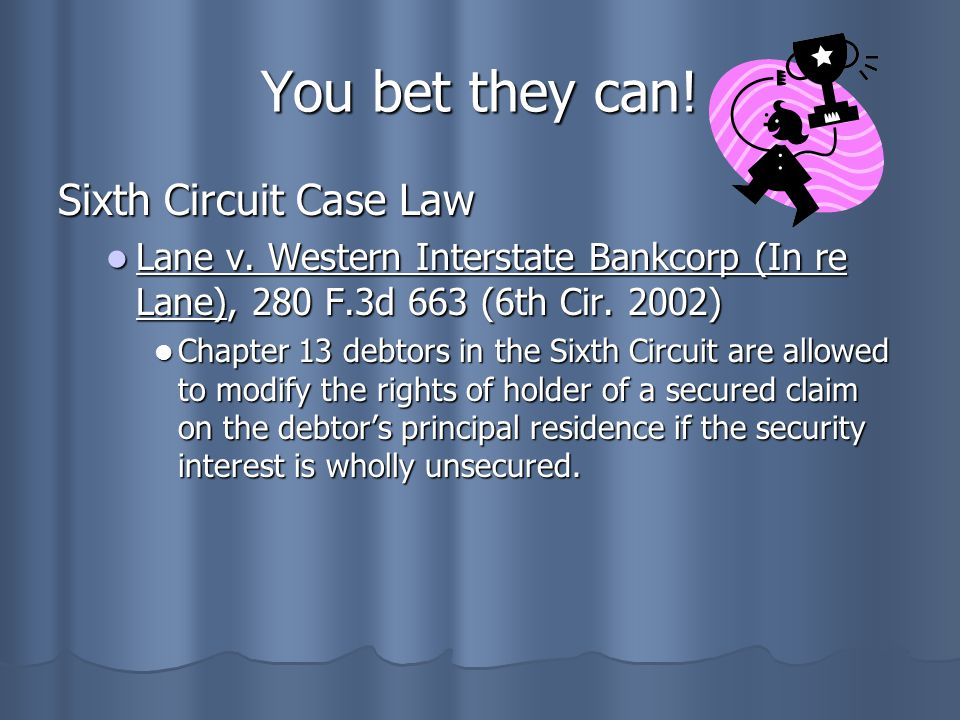 You bet they can! Sixth Circuit Case Law