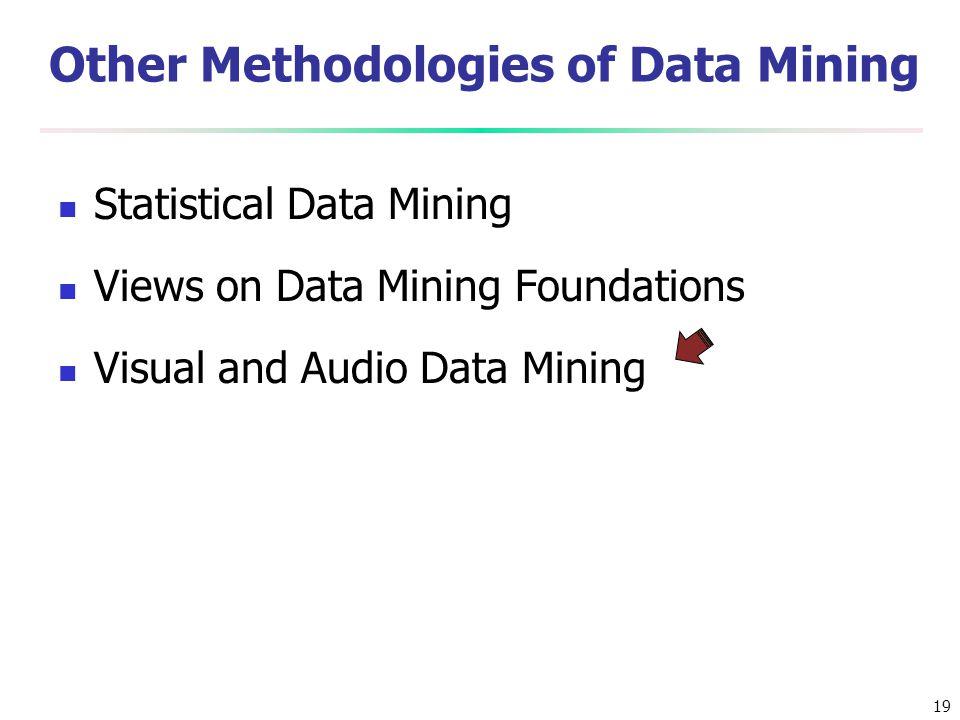 Other Methodologies of Data Mining