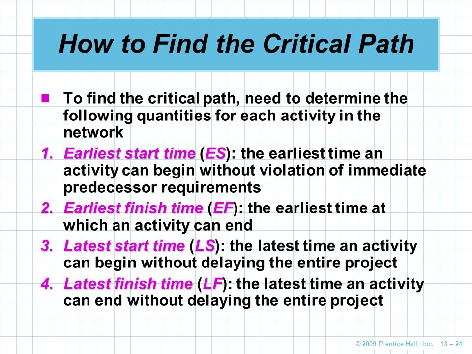 For each of the following network diagrams determine both the critical path and the expected project