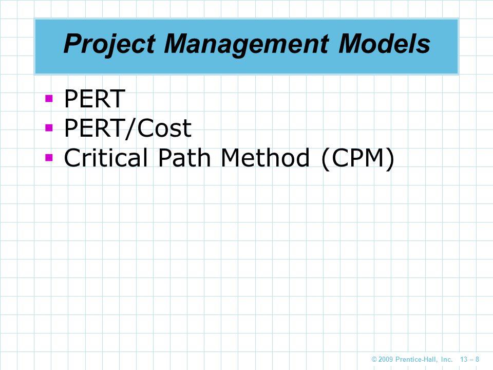 Project Management Models