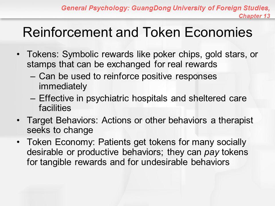 Reinforcement and Token Economies