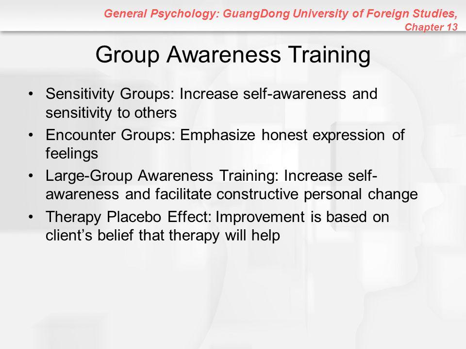 Group Awareness Training