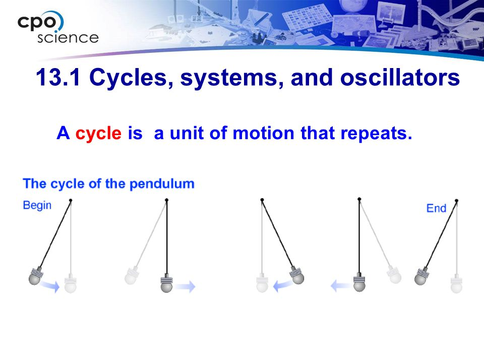 13.1 Cycles, systems, and oscillators