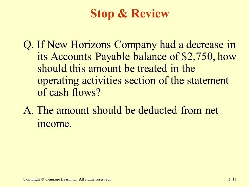 Stop & Review