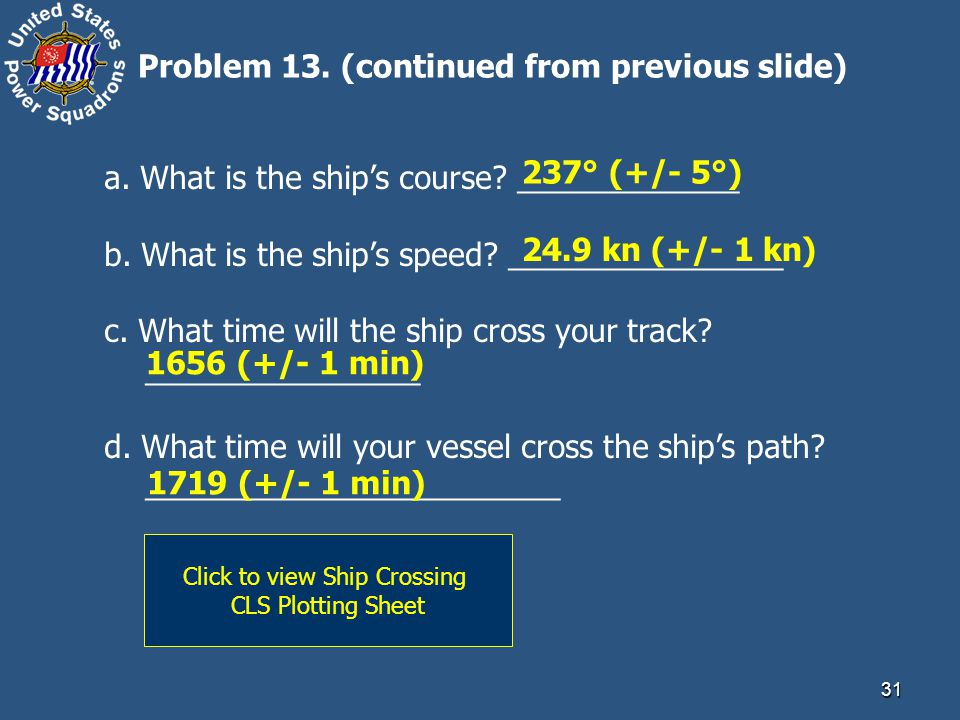 Click to view Ship Crossing