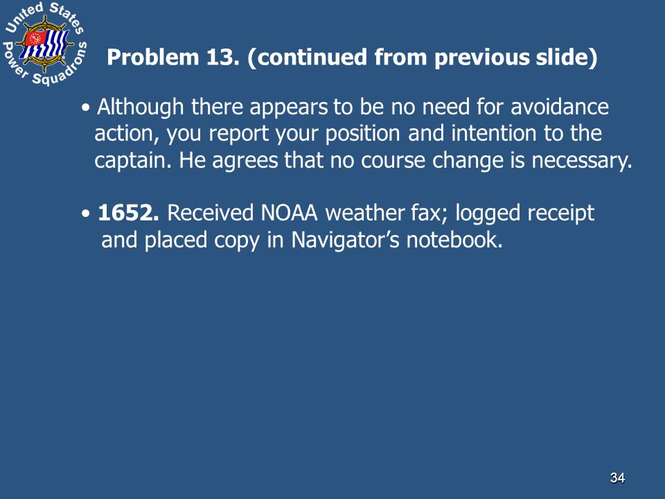 Problem 13. (continued from previous slide)