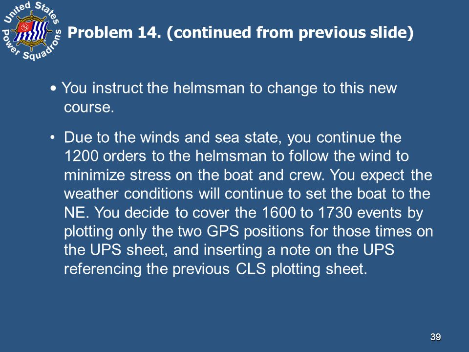 Problem 14. (continued from previous slide)