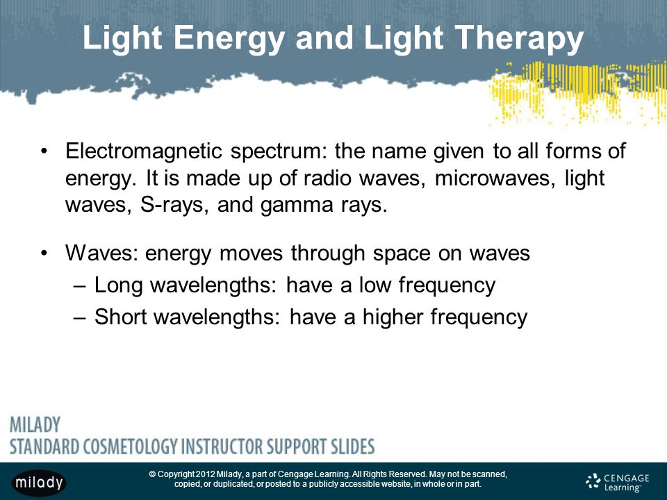 Light Energy and Light Therapy
