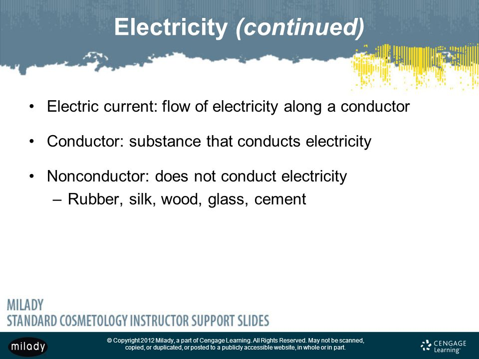 Electricity (continued)