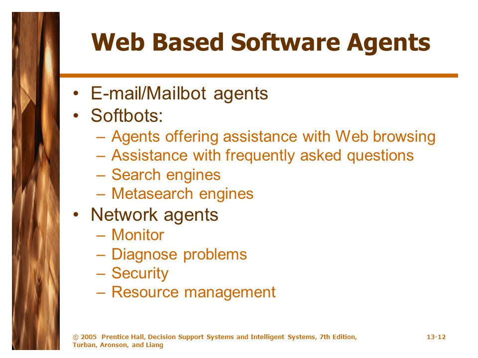 Web Based Software Agents