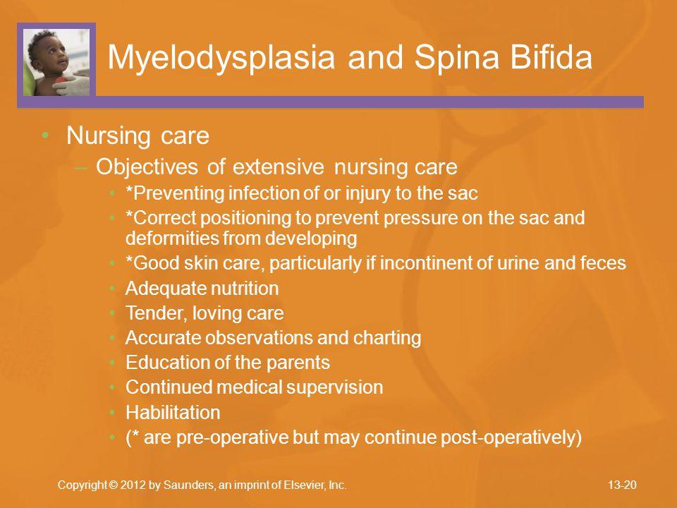 Myelodysplasia and Spina Bifida