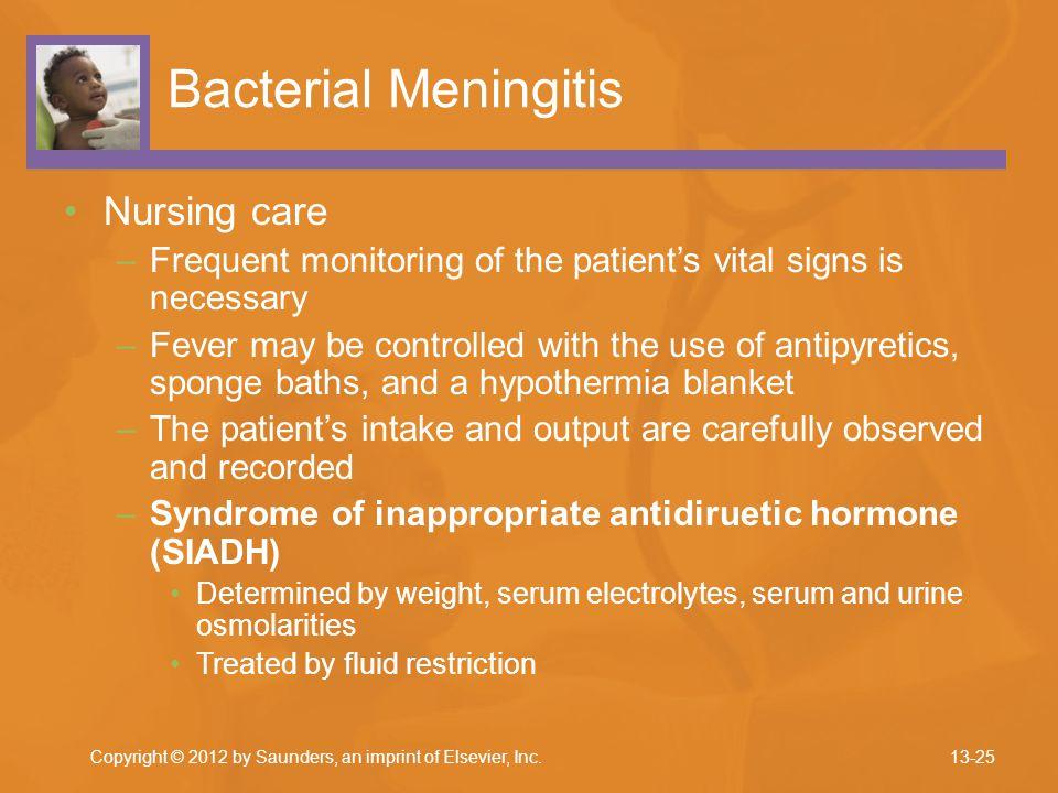 Bacterial Meningitis Nursing care