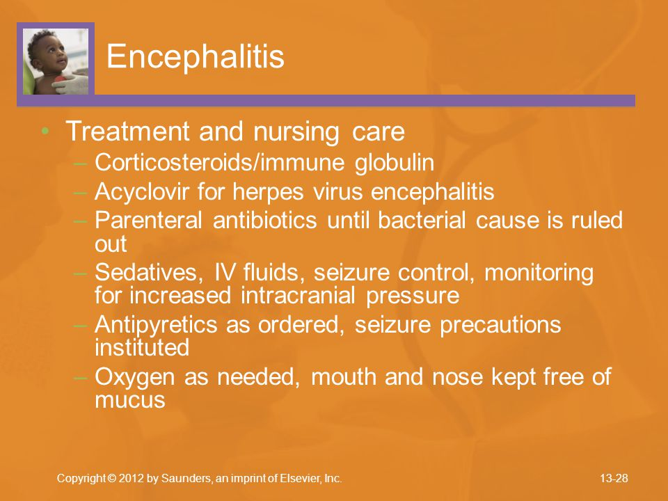 Encephalitis Treatment and nursing care