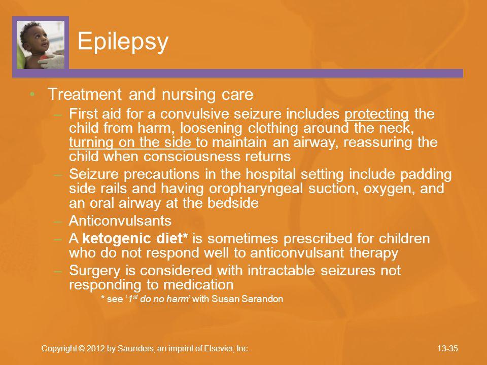 Epilepsy Treatment and nursing care