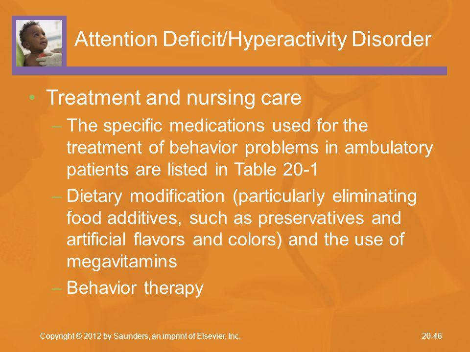 Attention Deficit/Hyperactivity Disorder
