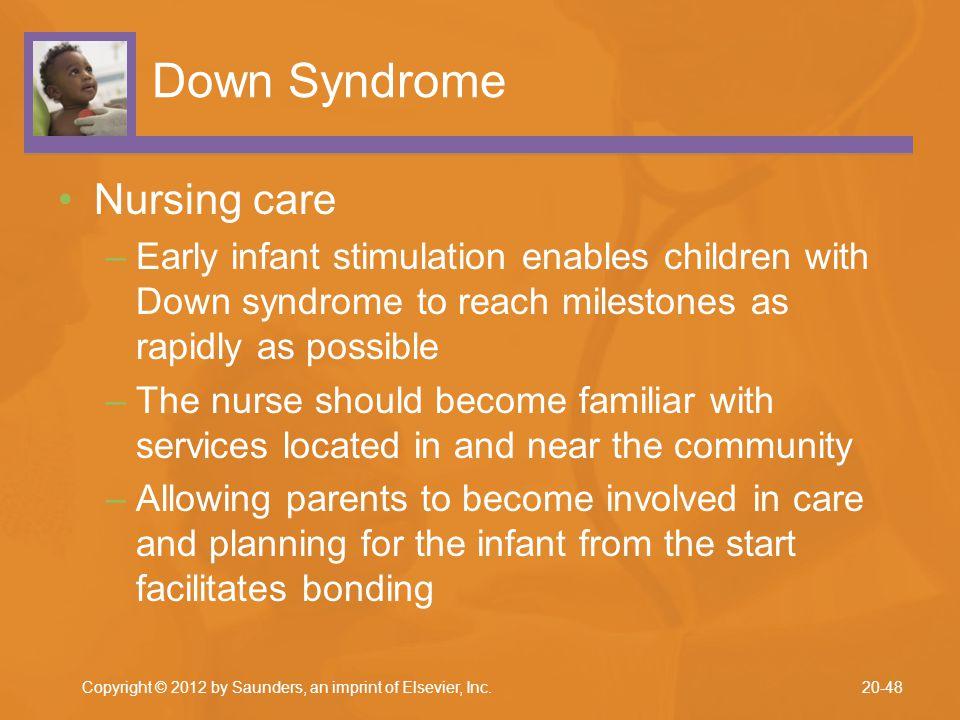 Down Syndrome Nursing care