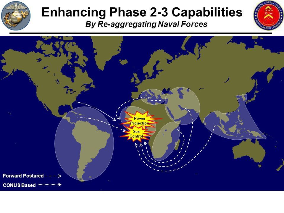 Enhancing Phase 2-3 Capabilities By Re-aggregating Naval Forces