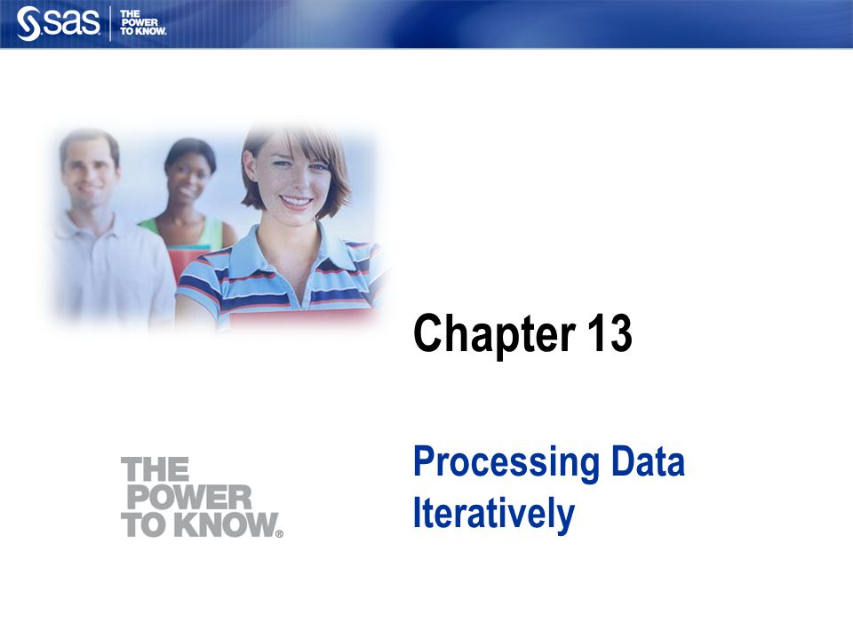 Processing Data Iteratively