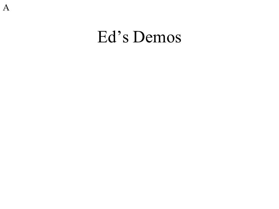 A Ed's Demos