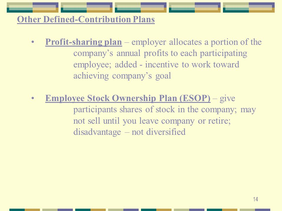 Other Defined-Contribution Plans