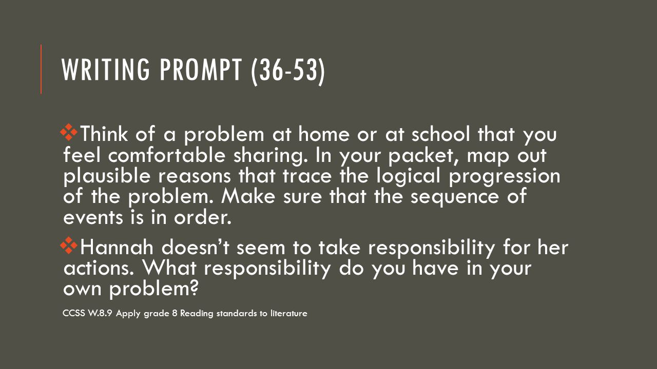 Writing Prompt (36-53)