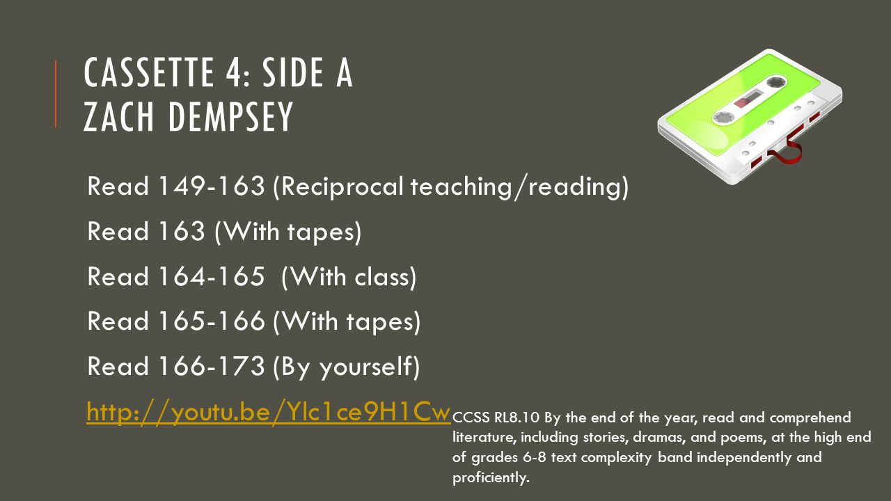 Cassette 4: Side A Zach Dempsey