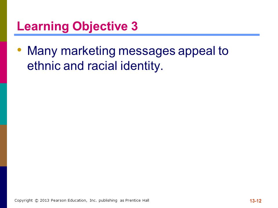 Many marketing messages appeal to ethnic and racial identity.