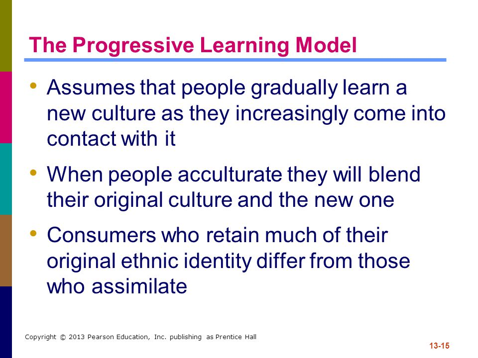 The Progressive Learning Model