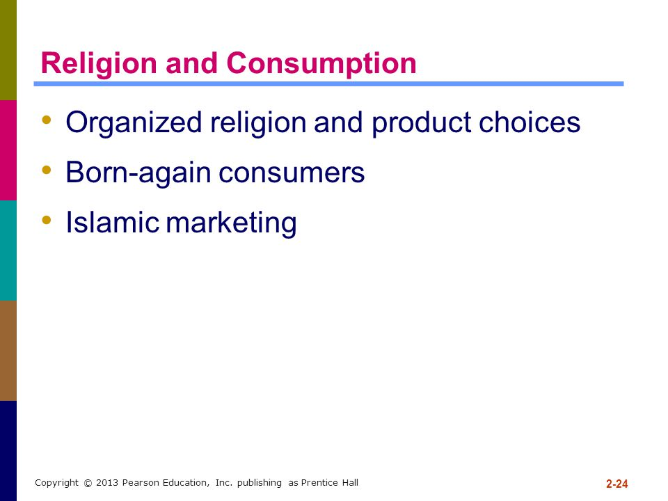 Religion and Consumption