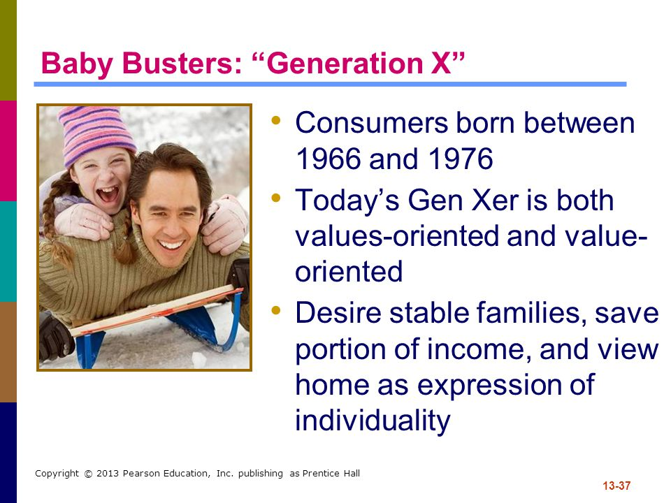 Baby Busters: Generation X