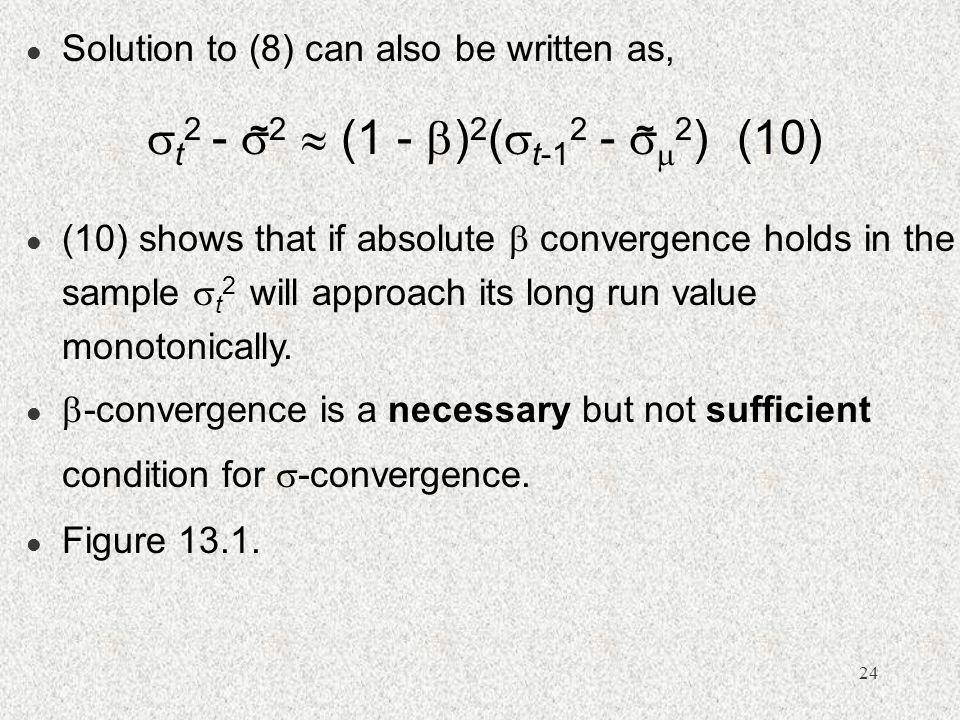 Solution to (8) can also be written as,
