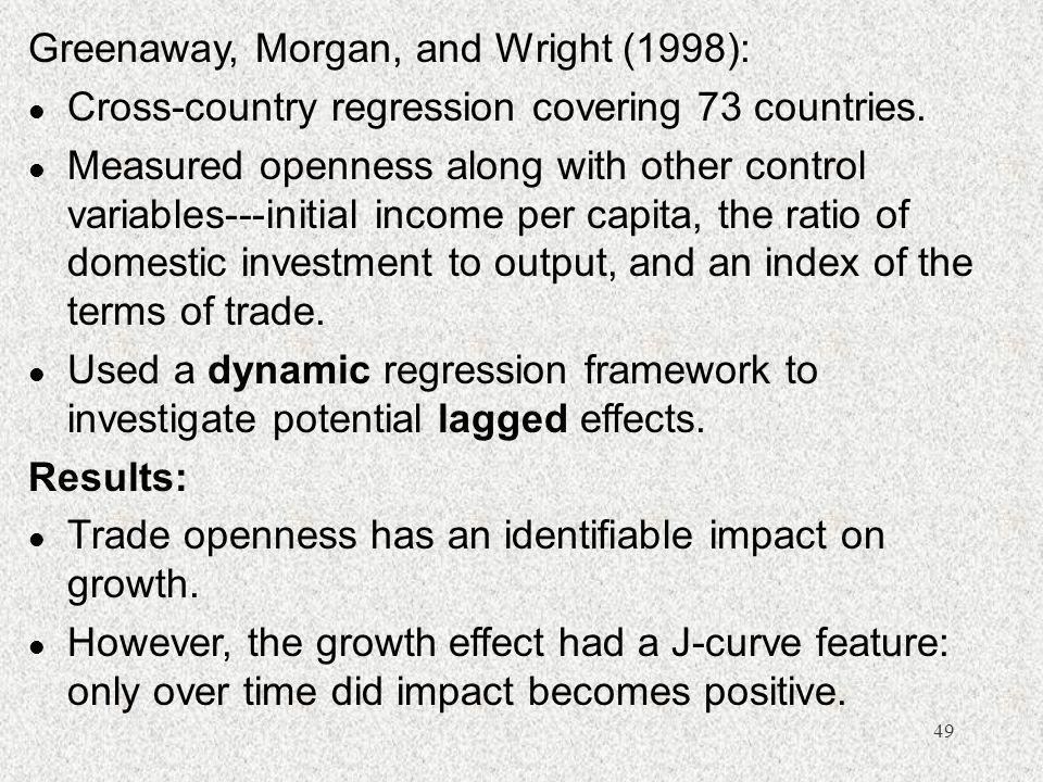 Greenaway, Morgan, and Wright (1998):