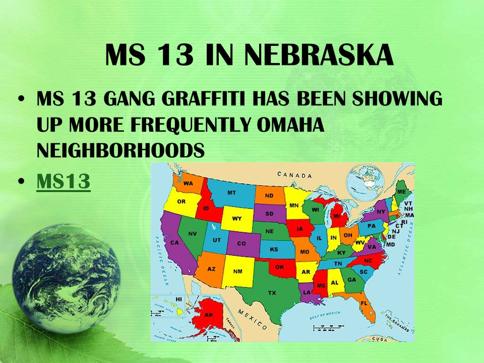 Ms 13 in Nebraska Ms 13 gang graffiti has been showing up more frequently Omaha neighborhoods.