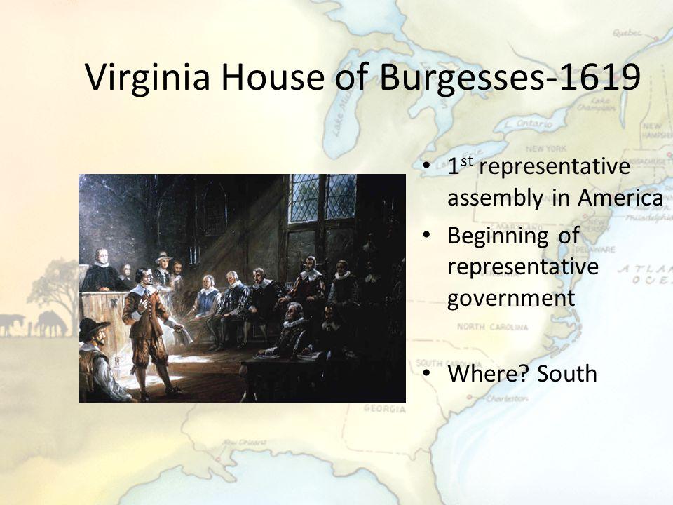 Virginia House of Burgesses-1619