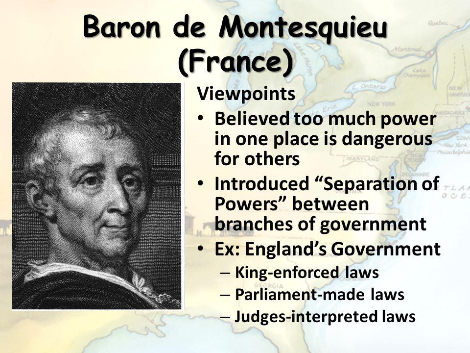 Baron de Montesquieu (France)