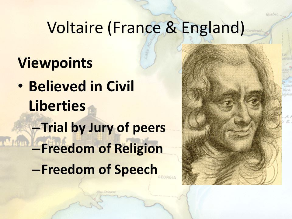 Voltaire (France & England)