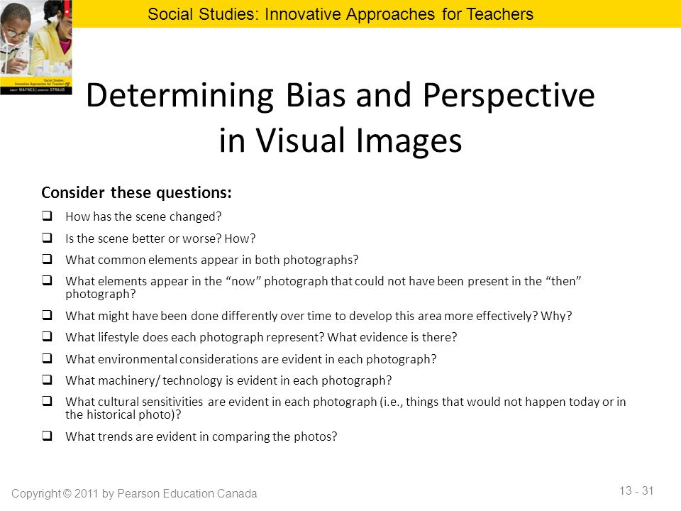 Determining Bias and Perspective in Visual Images