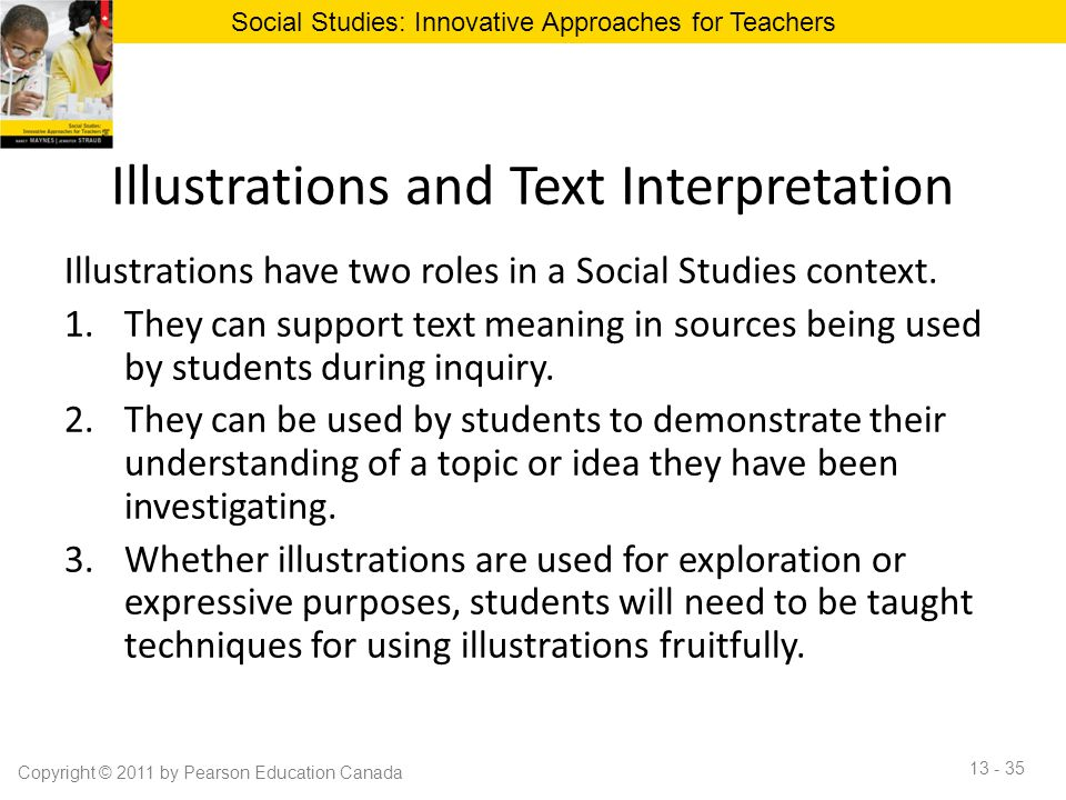 Illustrations and Text Interpretation