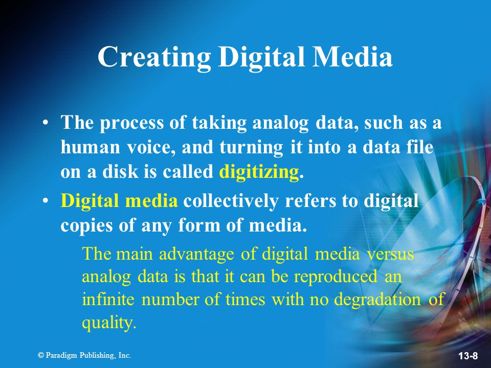 Creating Digital Media