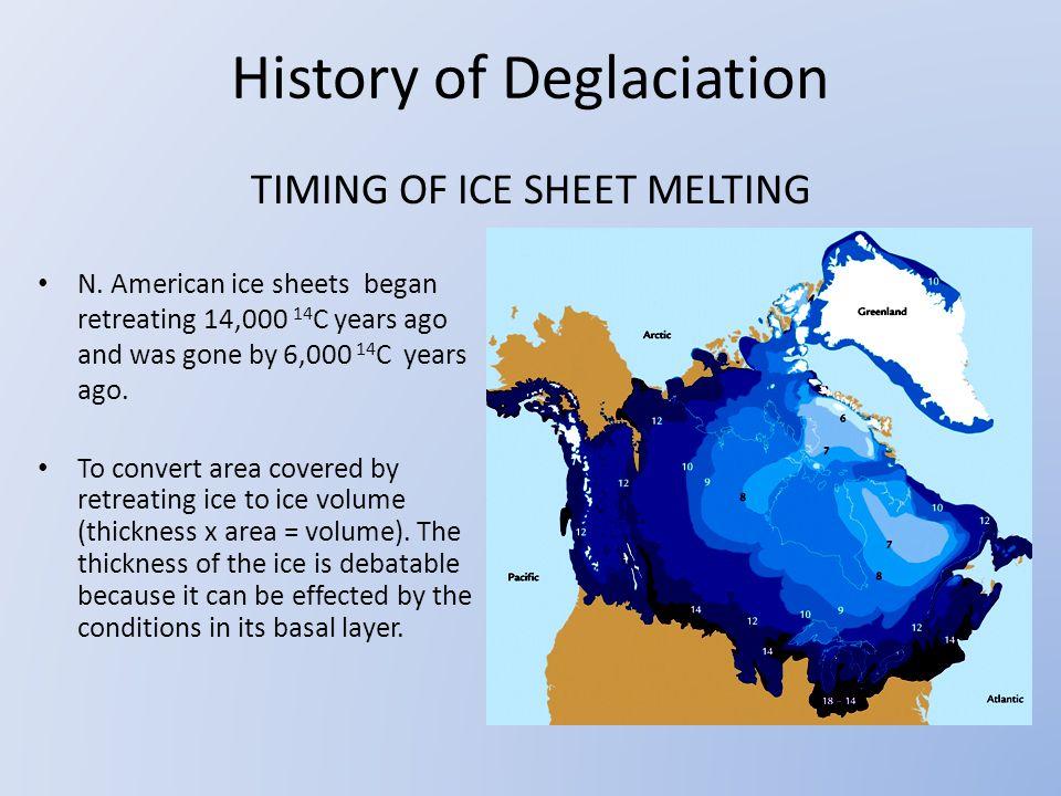 TIMING OF ICE SHEET MELTING